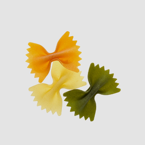 Medium Vegetable Farfalle
